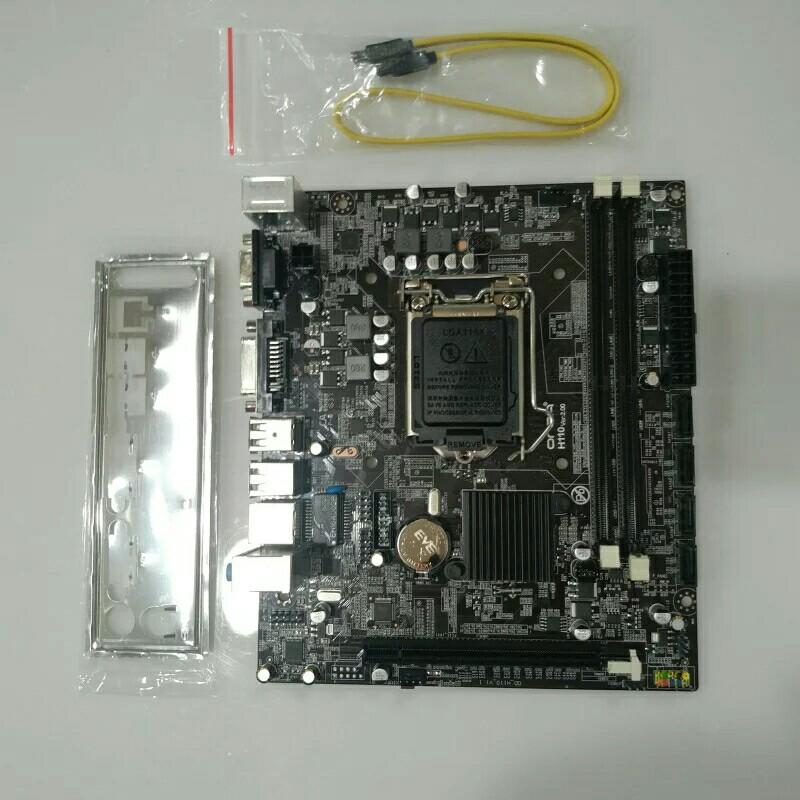 onda/昂达 h110 电脑主板 小板 lga1151 ddr4 vga dvi